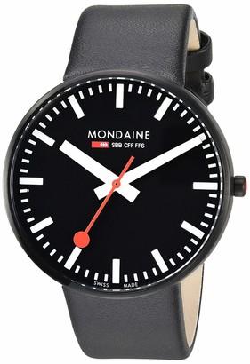 Mondaine SBB Elegant Wrist Watch for Women (A660.30328.64SBB) Swiss Made