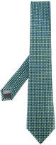 Canali floral embroidered tie - men - Silk - One Size