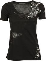 Ermanno Scervino Lace Detail T-shirt