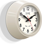 Newgate Clocks - The Small Electric Wall Clock - Sponge Cake Cream