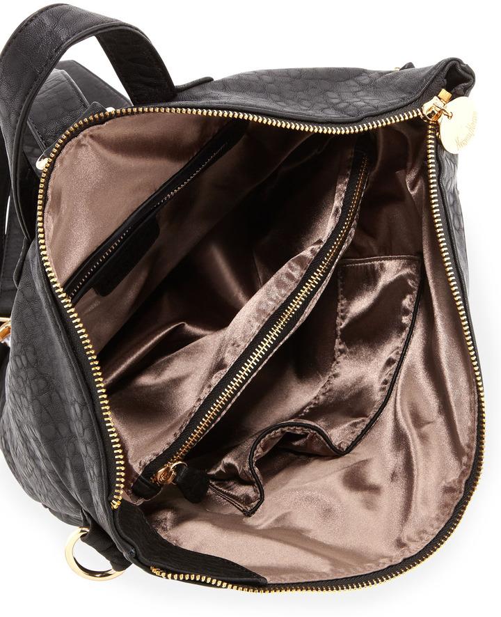 Neiman Marcus Convertible Backpack, Black