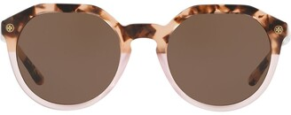 Tory Burch Round Frame Sunglasses