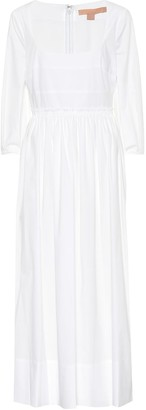 Brock Collection Ondina stretch-cotton midi dress