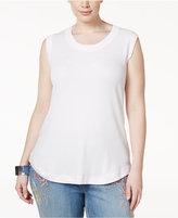 Melissa McCarthy Trendy Plus Size Muscle T-Shirt