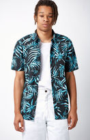 Vans Del Playa Palm Short Sleeve Button Up Shirt