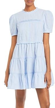 Aqua Clip Dot Dress - 100% Exclusive