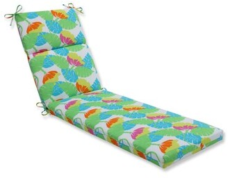 Outdoor Pillow Perfect Indoor/Outdoor Chaise Lounge Cushion Pillow Perfect Color: Fiesta