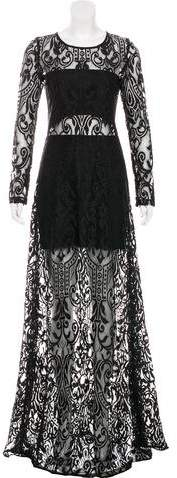 Alexis Lace Maxi Dress w/ Tags