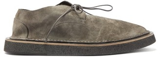 Marsèll Stratone Suede Derby Shoes - Grey