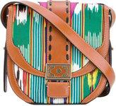 Etro boho print crossbody bag - women - Cotton/Leather/Polyester - One Size