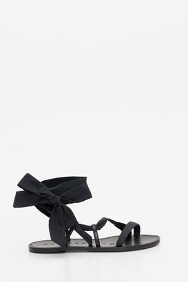 Philosophy di Lorenzo Serafini Flat Gladiator Sandals