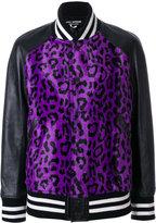 Junya Watanabe Cotton Bomber With Leopard Pattern