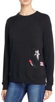 Rebecca Minkoff Appliquéd Sweatshirt - 100% Bloomingdale's Exclusive
