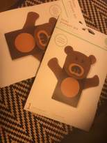 Martha Stewart Lot Of 2 Kids Craft Puppet Bear Kit