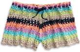 Sperry Crochet Shorts Beach Cover Up