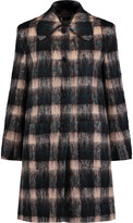 Markus Lupfer Angie checked wool-blend coat