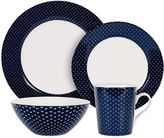 Maxwell & Williams Maxwell & WilliamsTM Arrow 4-Piece Place Setting in Indigo