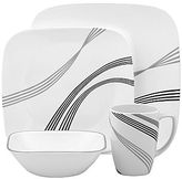 Corelle 16-pc. Square Dinnerware Set