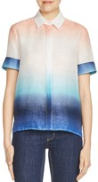 Maje Carl Dip-Dyed Shirt