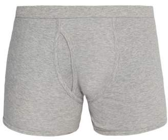 THE WHITE BRIEFS Wil Organic Cotton Trunks - Mens - Grey