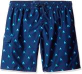 Kanu Surf Men's Big Regatta Extended Size Sailboat Volley Swim Trunk