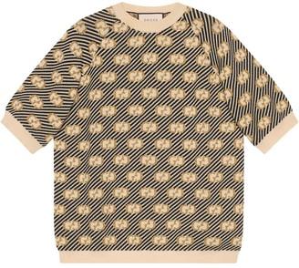 Gucci Metallic Jacquard Top