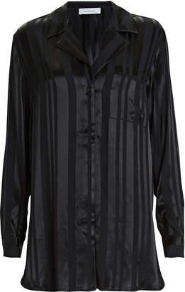 Anine Bing Ash Striped Oversized Shirt