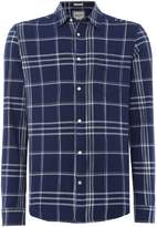 Wrangler Men's Long Sleeve Checked Shirt