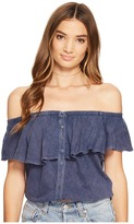 Free People Love Letter Tube Top Women's Sleeveless