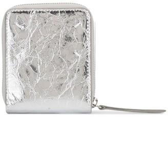 Maison Margiela Tabi frame zipped wallet