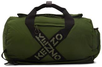 Kenzo Green Sport Big X Duffle Bag
