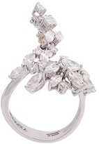 YEPREM diamond embellished ring
