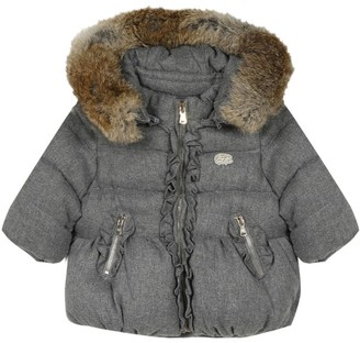 Tartine et Chocolat Fur-Trim Down Jacket (3-36 Months)