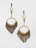 Aurelie Bidermann Zia Fringe Earrings
