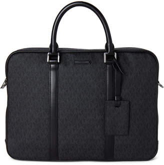 Michael Kors Black Jet Set Laptop Large Briefcase