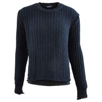 Dolce & Gabbana Blue Cotton Knitwear & Sweatshirts