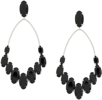 Isabel Marant Crystal-Embellished Chandelier Earrings