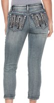 Apt. 9 Women's Embellished Capri Jeans