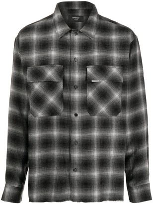 Represent Check-Print Two-Pocket Shirt