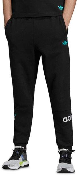 93d2a2b12 Mens Adidas Originals Black Pants - ShopStyle