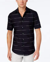 Alfani Men's Striped Classic-Fit Shirt, Created for Macy's