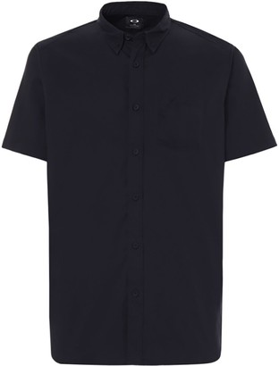 Oakley Short-Sleeve Solid Woven Shirt - Men's