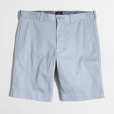 "J.Crew Factory 9"" flex chino Gramercy short"
