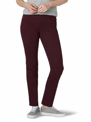 Lee Women's Misses Classic Fit Monroe Straight-Leg Jean