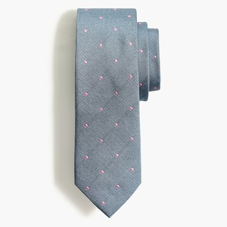 J.Crew Silk dot tie