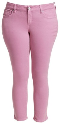 Slink Jeans, Plus Size Mid-Rise Straight Jeans