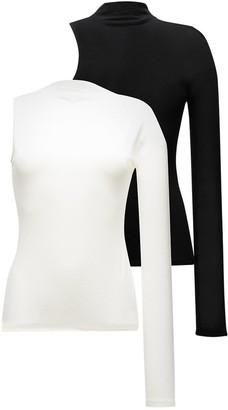 REJINA PYO Ola set of two one-sleeve tops