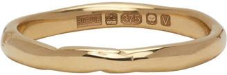 Bleue Burnham Gold Stem Ring