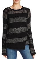Pam & Gela Offset Stripe Sweater