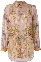 Alberta Ferretti floral print shirt - women - Silk - 44
